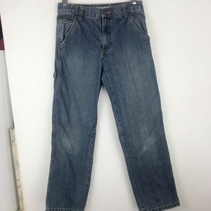 Boy's Gymboree Jeans Carpenter Loose Fit sz 12